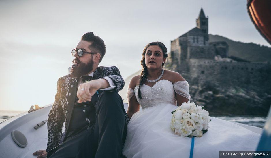 Il matrimonio di Jacopo e Julia a Portovenere, La Spezia