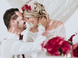Le nozze di Jeannine e Carmine