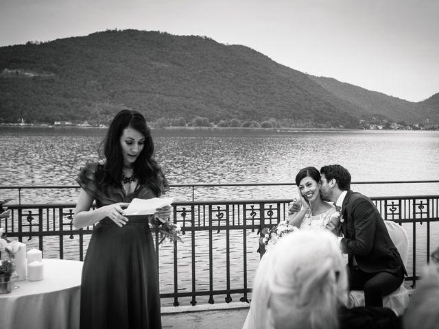 Il matrimonio di Régis e Laura a Sarnico, Bergamo 15