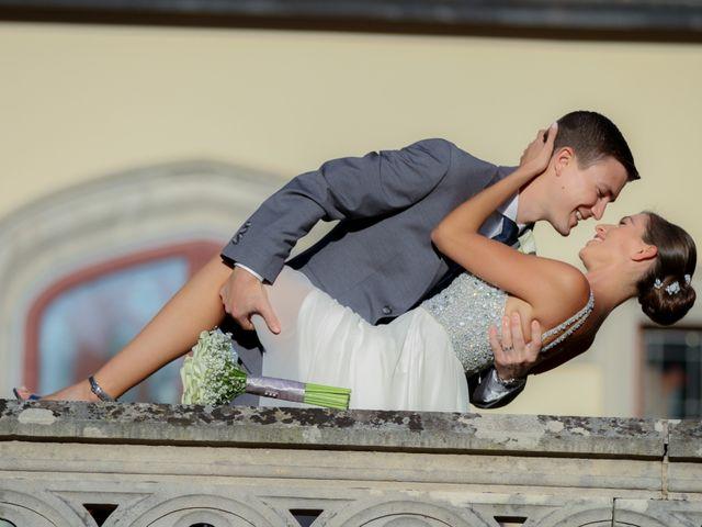 Il matrimonio di Andrew e Elizabeth a Oleggio Castello, Novara 17
