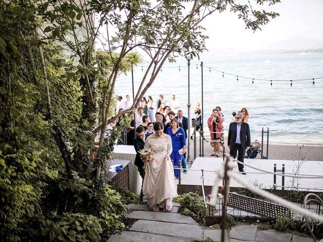 Il matrimonio di Nina e Dalle a Peschiera del Garda, Verona 16