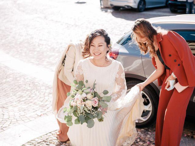 Il matrimonio di Massimo e Piper a Castagnole Monferrato, Asti 41