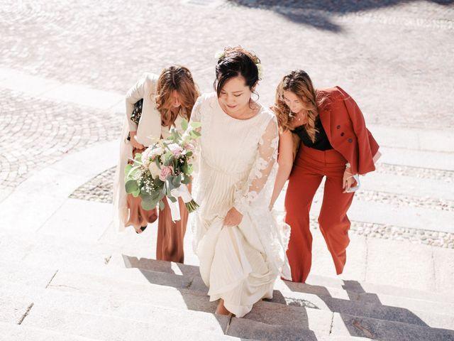 Il matrimonio di Massimo e Piper a Castagnole Monferrato, Asti 43