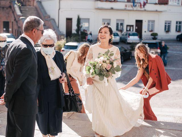 Il matrimonio di Massimo e Piper a Castagnole Monferrato, Asti 46