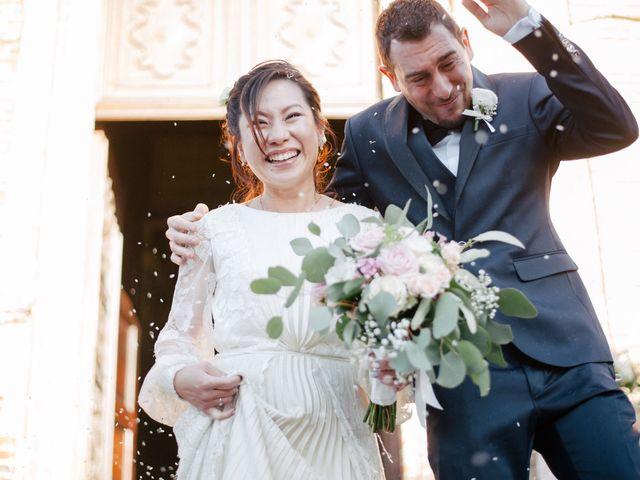 Il matrimonio di Massimo e Piper a Castagnole Monferrato, Asti 47