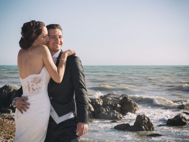 le nozze di Rosaria e Federico