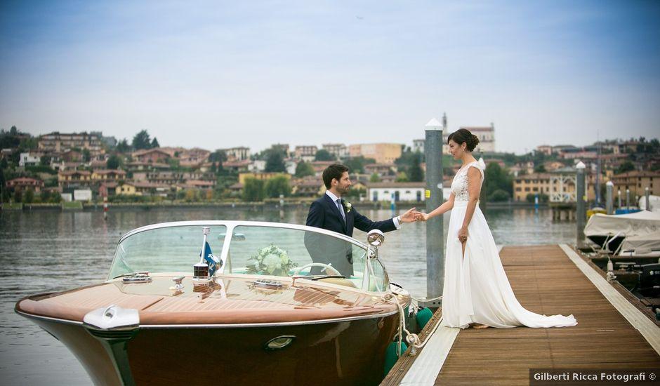 Il matrimonio di Régis e Laura a Sarnico, Bergamo