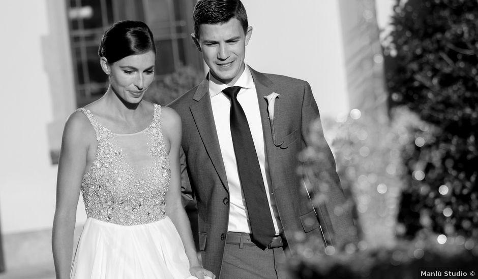 Il matrimonio di Andrew e Elizabeth a Oleggio Castello, Novara