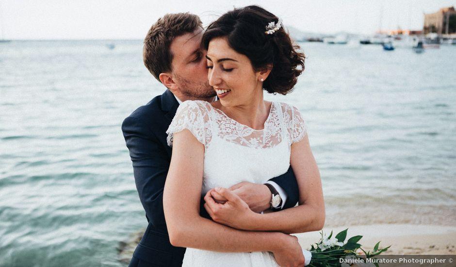 Il matrimonio di Guillaume e Marie a Favignana, Trapani