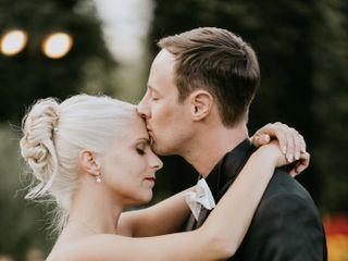 Le nozze di Sarah e Andrea