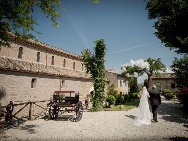 Il matrimonio di Claudio e Eleonora a Ponzano Romano, Roma 8