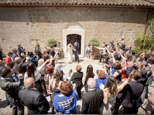 Il matrimonio di Claudio e Eleonora a Ponzano Romano, Roma 15