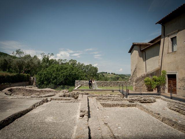 Il matrimonio di Claudio e Eleonora a Ponzano Romano, Roma 17