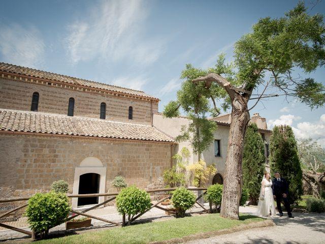 Il matrimonio di Claudio e Eleonora a Ponzano Romano, Roma 22