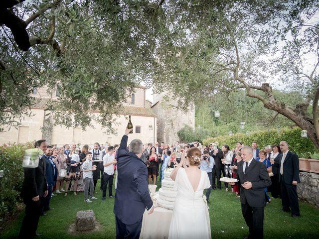 Il matrimonio di Claudio e Eleonora a Ponzano Romano, Roma 26