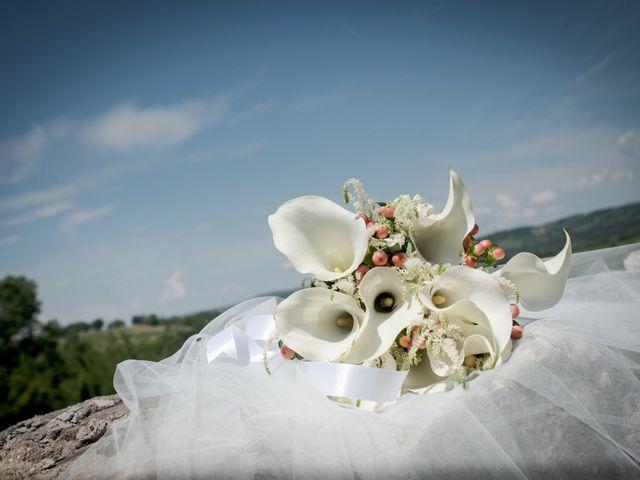 Il matrimonio di Claudio e Eleonora a Ponzano Romano, Roma 52