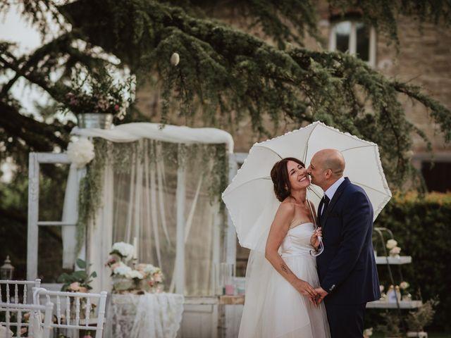 le nozze di Nazzarena e Enzo