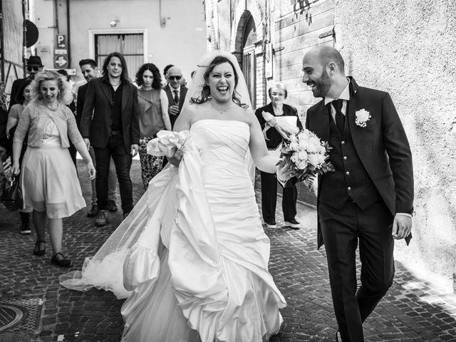 Il matrimonio di Marco e Patrizia a Fabriano, Ancona 19