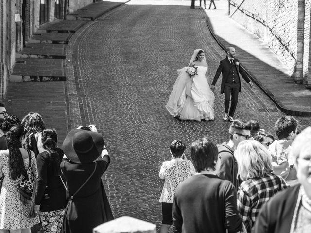 Il matrimonio di Marco e Patrizia a Fabriano, Ancona 20