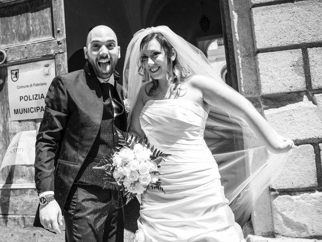 Il matrimonio di Marco e Patrizia a Fabriano, Ancona 33