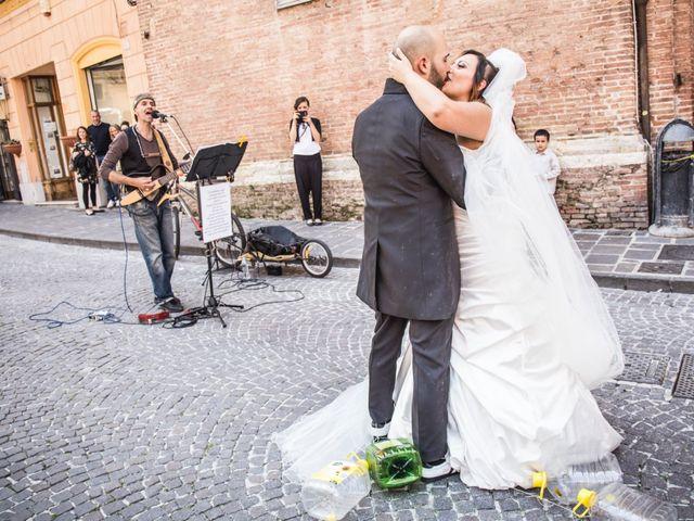 Il matrimonio di Marco e Patrizia a Fabriano, Ancona 36