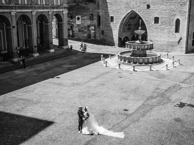 Il matrimonio di Marco e Patrizia a Fabriano, Ancona 41