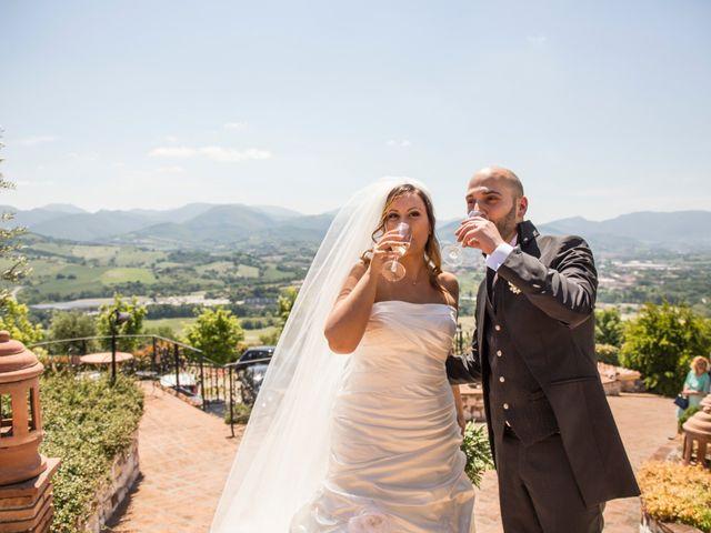 Il matrimonio di Marco e Patrizia a Fabriano, Ancona 42