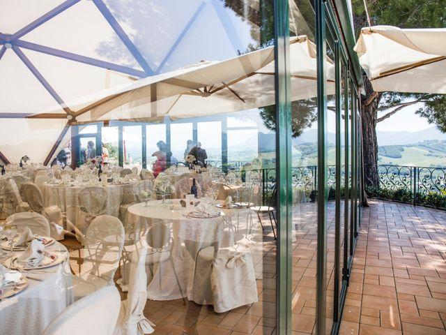 Il matrimonio di Marco e Patrizia a Fabriano, Ancona 45