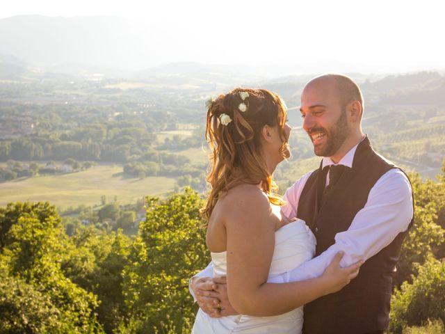 Il matrimonio di Marco e Patrizia a Fabriano, Ancona 55