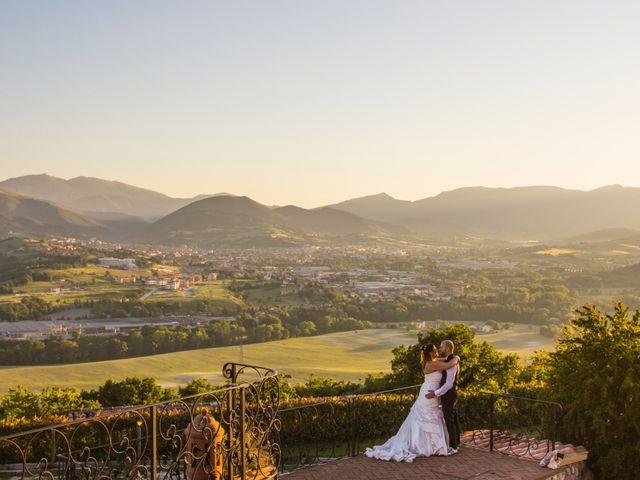 Il matrimonio di Marco e Patrizia a Fabriano, Ancona 60