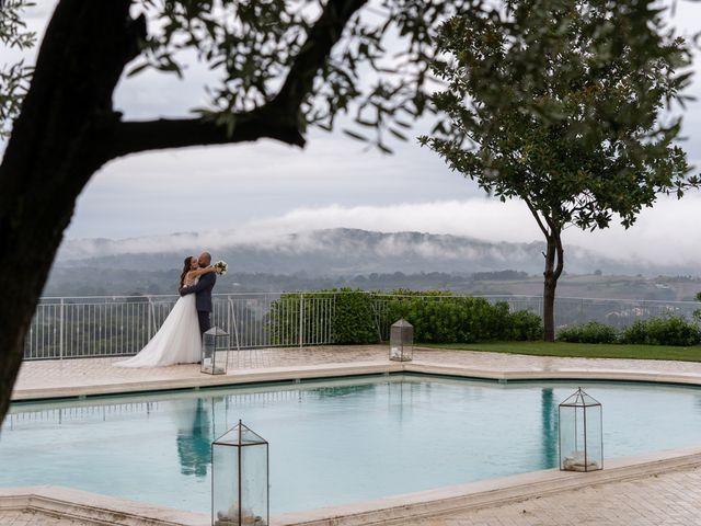 Il matrimonio di Andrea e Eleonora a Bassano Romano, Viterbo 58