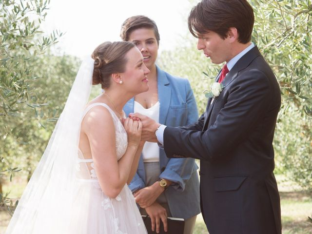 Le nozze di Miranda e Daniel