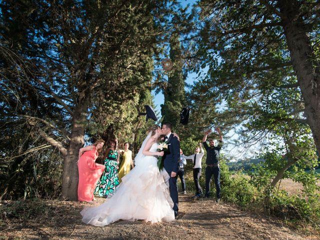 Il matrimonio di Filippo e Ilaria a Ponsacco, Pisa 47