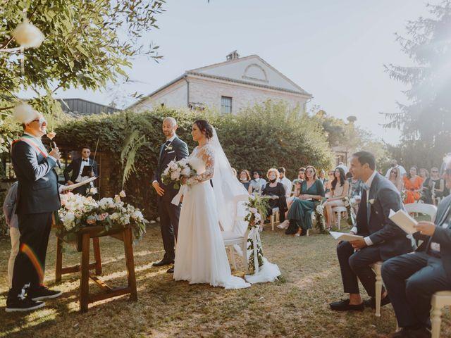 Il matrimonio di Fabio e Mariapia a Collecorvino, Pescara 11