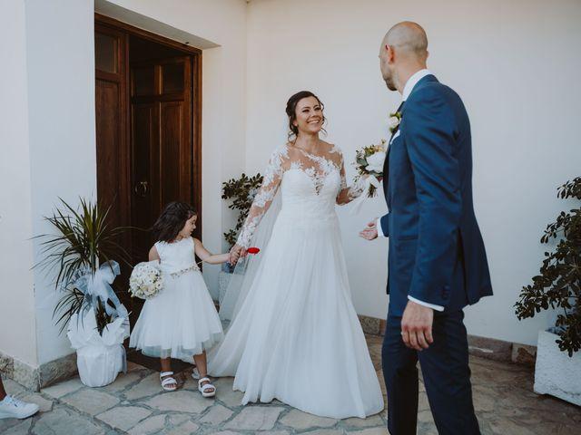 Il matrimonio di Fabio e Mariapia a Collecorvino, Pescara 54