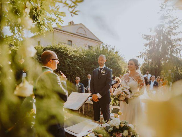 Il matrimonio di Fabio e Mariapia a Collecorvino, Pescara 93
