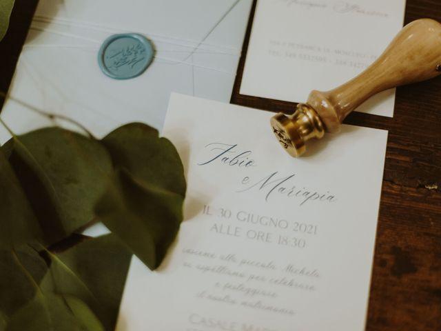 Il matrimonio di Fabio e Mariapia a Collecorvino, Pescara 105
