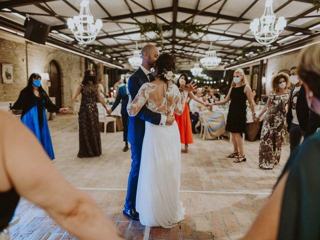 Il matrimonio di Fabio e Mariapia a Collecorvino, Pescara 144