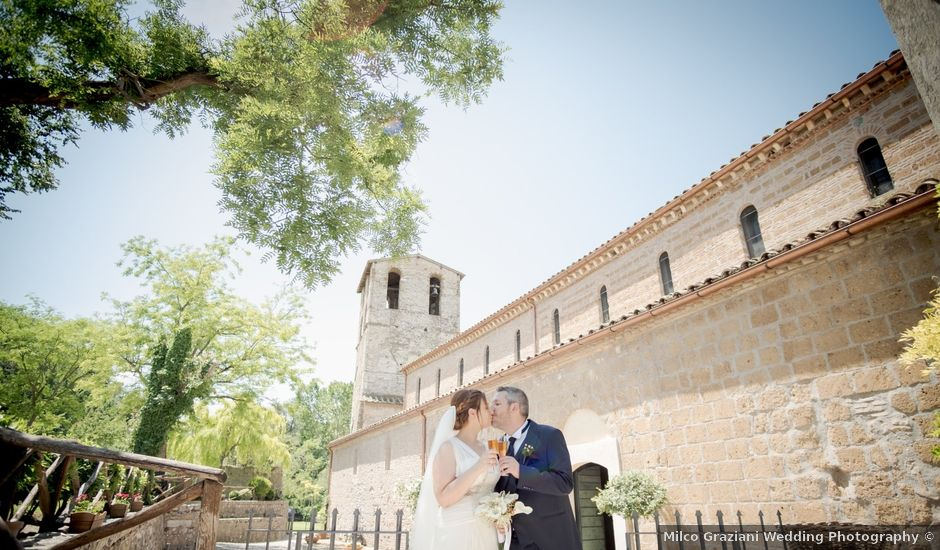 Il matrimonio di Claudio e Eleonora a Ponzano Romano, Roma