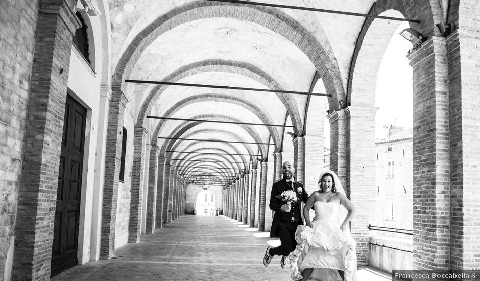 Il matrimonio di Marco e Patrizia a Fabriano, Ancona