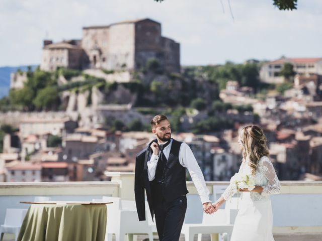 Il matrimonio di Roberta e Massimiliano a Subiaco, Roma 1