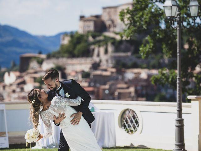 Il matrimonio di Roberta e Massimiliano a Subiaco, Roma 2