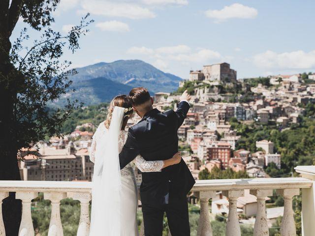Il matrimonio di Roberta e Massimiliano a Subiaco, Roma 13