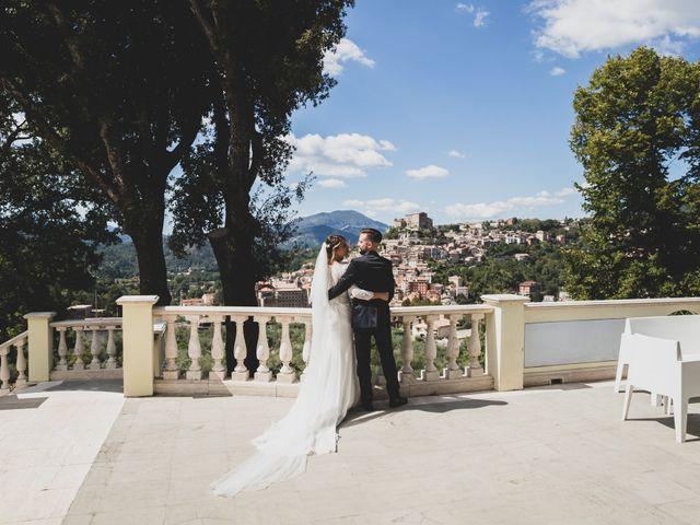 Il matrimonio di Roberta e Massimiliano a Subiaco, Roma 14
