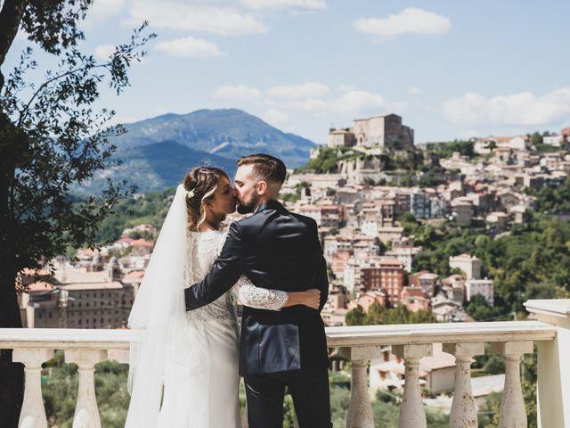 Il matrimonio di Roberta e Massimiliano a Subiaco, Roma 15