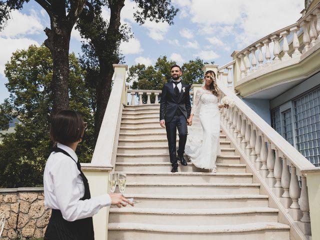 Il matrimonio di Roberta e Massimiliano a Subiaco, Roma 17