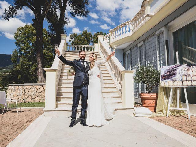 Il matrimonio di Roberta e Massimiliano a Subiaco, Roma 18