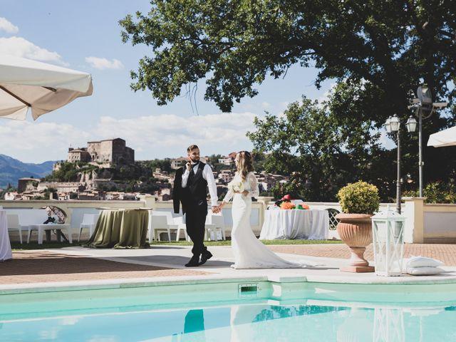 Il matrimonio di Roberta e Massimiliano a Subiaco, Roma 22