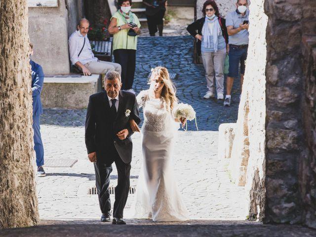Il matrimonio di Roberta e Massimiliano a Subiaco, Roma 38
