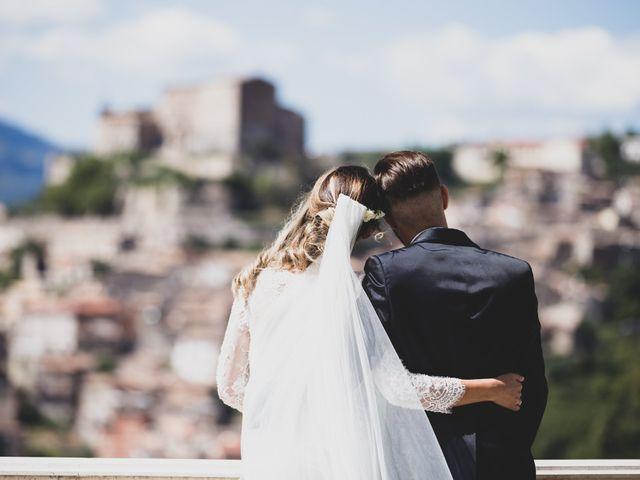 Il matrimonio di Roberta e Massimiliano a Subiaco, Roma 43